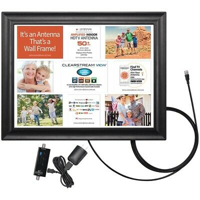 Antennas Direct VIEW ClearStream VIEW Wall Frame Amplified Indoor HDTV Antenna