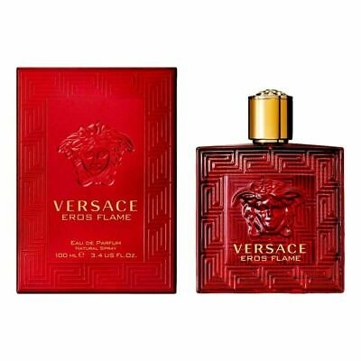 Versace Eros Flame Cologne for Men 3.4 oz EDP Spray New in Box