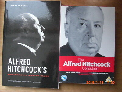 Alfred Hitchcock's Movie Making Master Class Learning About Film Plus X4 DVD's