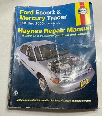 1993 ford escort mercury tracer foldout wiring diagram $14 44 1993 Mercury Tracer Specifications