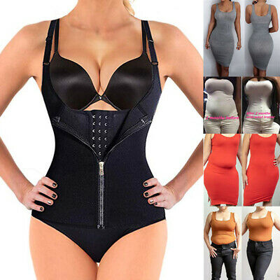 Women Body Shaper Ultra Sweat Waist Trainer Cincher Underbust Corset Sauna Vest