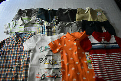 New 12 Pc. Lot Of Baby Boy Clothes 12-18 Months Nwt $172