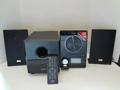 TEAC MICRO HI-FI System MC-DX90i With Subwoofer & Speakers - With REMOTE