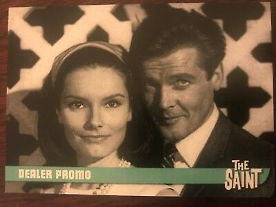 The Saint Series 2 Trading Cards Dealer Promo Card MB1