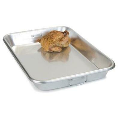 "Carlisle 601923 Bake Pan Drop Handles 19qt 18"" x 26"" x 3.5"" Aluminum Case of 8"