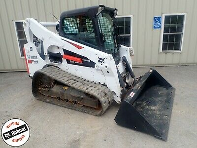BOBCAT T770 SKID Steer Loader Rubber Track Bucket Bob Cat Kubota
