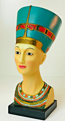 EGYPTIAN QUEEN NEFERTITI Bust Home Decoration Figurine Statue