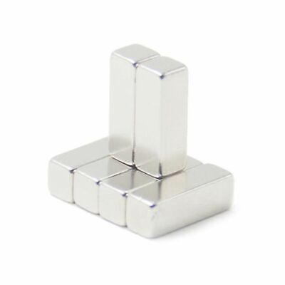 50x Neodym Aimant Forte N35 Super Aimants Aimant Super Cubique 30 x 10 X 10 MM