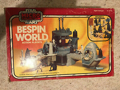 Bespin World 1982 Action Playset STAR WARS Micro Collection with box