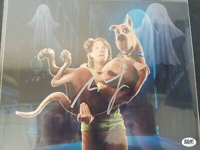 Limited Edition Scooby Doo photograph (Signed by Matthew Lillard).