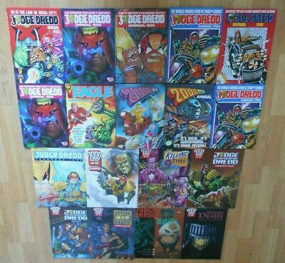 2000 AD/Judge Dredd - Annuals/Yearbooks & Graphic Novels: Excellent Condition