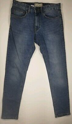 Next Super Skinny Stretch Jeans Size 30 S Mens Blue