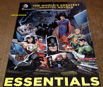 World's Greatest Graphic Novels Poster Dc Comics 22X34 Joker Jla Flash Superman