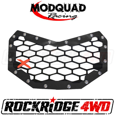 Silver//Black 2017-2018 Can-Am Maverick 900 X3T New ModQuad Front Grill