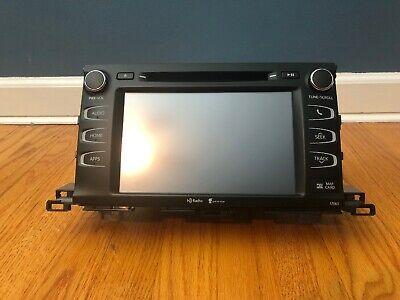 15 16 17 TOYOTA Camry JBL GPS Navigation RADIO Touch-screen Entune