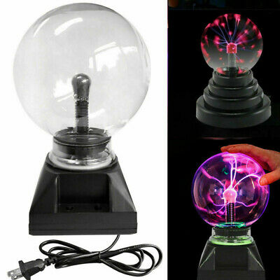 Plasma Ball USB Magic Crystal Globe Desktop Light Lightning Lamp Nebula Sphere