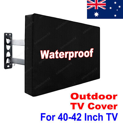 40-42 Inch Waterproof TV Cover Outdoor Patio Flat Television PVC Protector OZ
