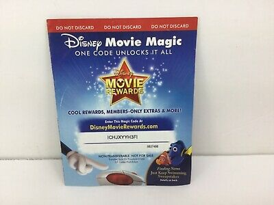 Disney Movie Rewards - 150 PTS -Finding Nemo Points Only