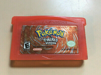 Nintendo Gameboy Advance Pokemon FireRed version Cartridge only