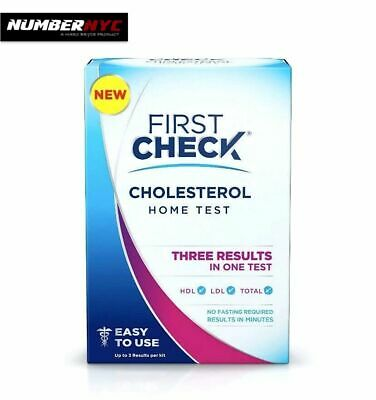 Best Home Cholesterol Test Kit Sealed Monitor Results in Minutes First Check NEW