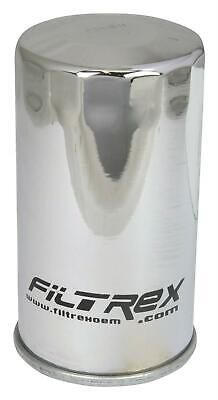 Filtrex Chrome Canister Oil Filter For Motorbike Motorcycle HF173C