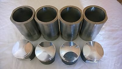 RENAULT 17 GORDINI ALPINE 1600s EUROPA TO 1800CC FORGED PISTON AND LINER SET!