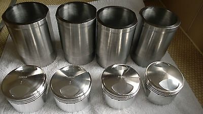 Renault 5 Gordini Alpine 1397 To 1550Cc Forged Piston And Liner Set!