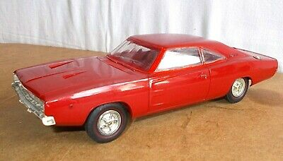 Vintage 1/25 scale promo model car - MPC made in usa - 1968 DODGE CHARGER 440 RT