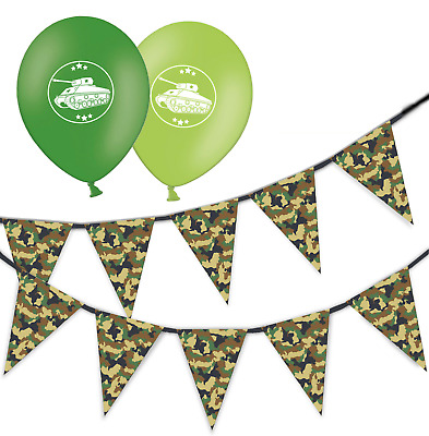 Camouflage Hen Night Party Wall  Banner Personalised ARMY Theme Photo BUNTING