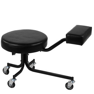 Pedicure Cart / Stool - BLACK