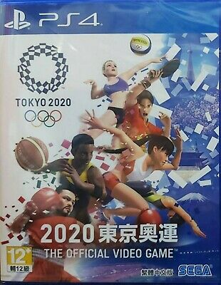 Olympic Games Tokyo 2020:The Official Video Game Chi/Eng subtitle PS4 BRAND NEW