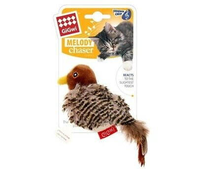 Gigwi Melody Chaser Bird Motion Active Cat Toy  (DAG2355)