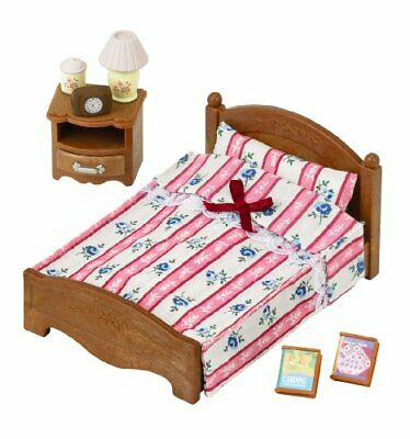 New Sylvanian Families furniture semi-double bed -512