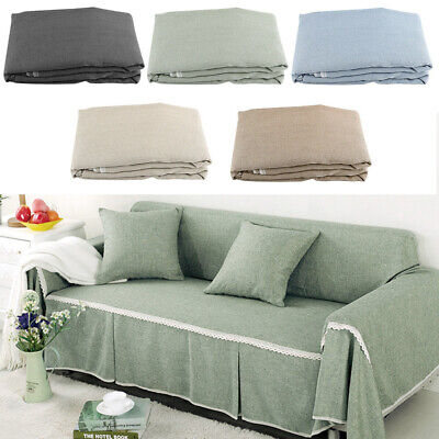 1/2/3/4 Seater Quilted Sofa Covers Slipcover Settee Couch Furniture Protector