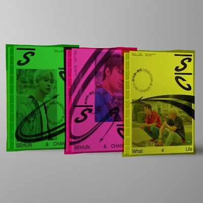 Exo-SC - What A Life (1st Mini) CD+Photocard+Name Tag+Post Card+Sticker Sealed