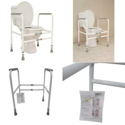 M00870 Free Standing Toilet Frame Width And Height Adjustable Eligible For VAT R