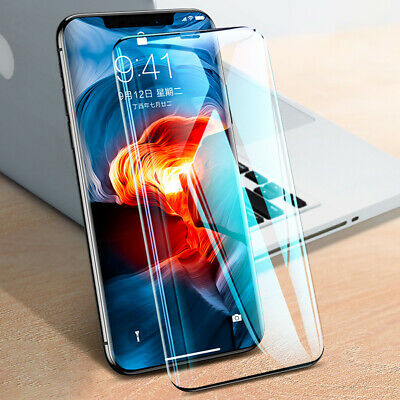 2Pcs Premium Real Screen Protector Tempered Glass Film For Apple iPhone Xs Max