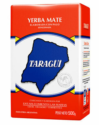 Yerba mate Taragui con Palo ARGENTINIAN JEWEL Leaves with sticks Traditional