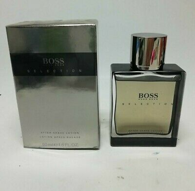 HUGO BOSS SELECTION  AFTER SHAVE LOTION SPLASH ( No Spray)  50 ml New & Rare