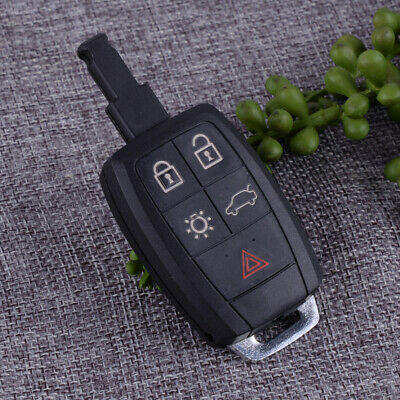 5 Button Remote Car Key Fob Shell Keyless Fit For Volvo C30 C70 S40 2008-2011