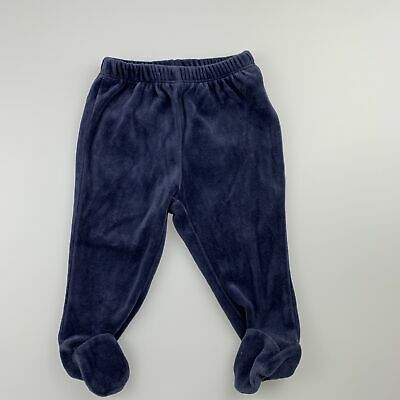 Girls,Boys size 00, baby Gap, soft velour footed leggings / bottoms, GUC