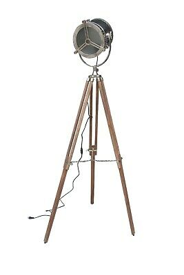 Royal Hand Made Nautical Search Light, Spot Lamp Light With Tripod Stand,
