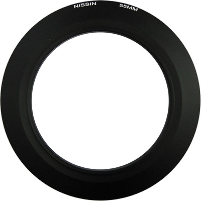 Nissin NI-ZRING55 55 mm Adapter Ring for MF18 Macro Flash - NFG008A55