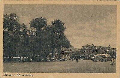 CPA - Pays-Bas - Zwolle - Stationsplein