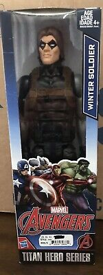 "12/"" marvel avengers Titan Hero Series Iron Man Winter Soldier 2 Pack NEW L @ @ K"