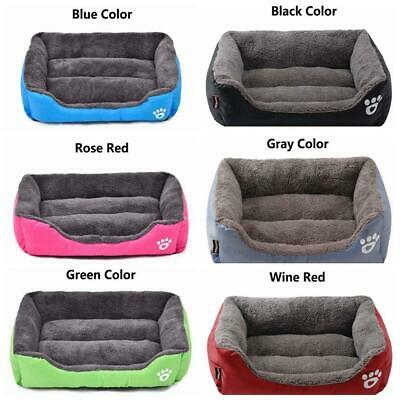 Winter Warm Washable Cushion Cat Bed Pet Kennel Mat Large Dog House Blanket Pad