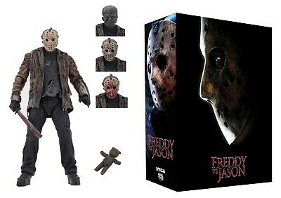 "Freddy Vs Jason Ultimate Jason Voorhees 7"" Scale Action Figure NECA IN STOCK"