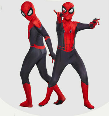 Spider-Man: Far From Home Cosplay Costumes 3D Lens Zentai For Kid & Adult Suit