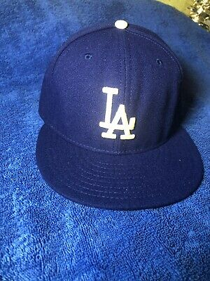 1c56349d LOS ANGELES L.A. Dodgers Patch Hat New Era 59Fifty Baseball Ball Cap ...