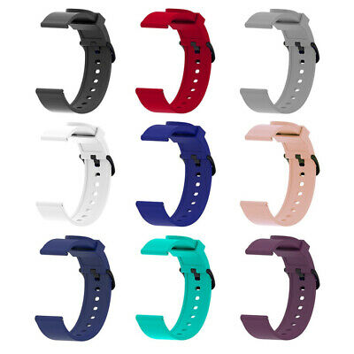 20mm Sport Replacement Silicone Watch Bands Straps For Huami Amazfit Bip Youth